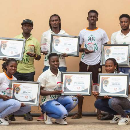 CHARGER LIMITED AWARDS ITS STAFF.